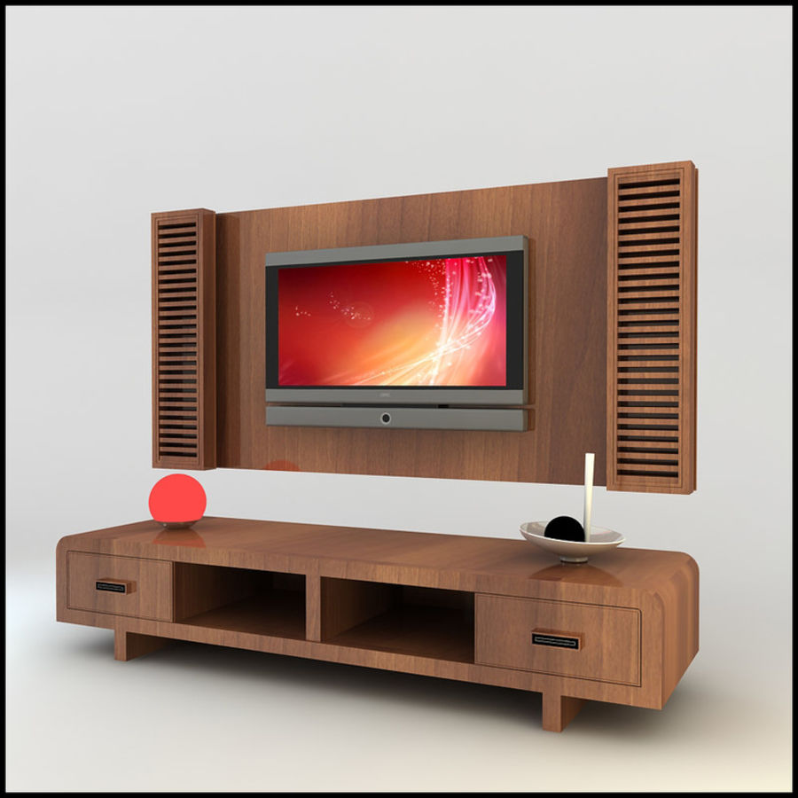 Meuble Tv Max Meuble Tv Design Moderne X 11 Modèle 3d 25 Unknown Obj Dwg