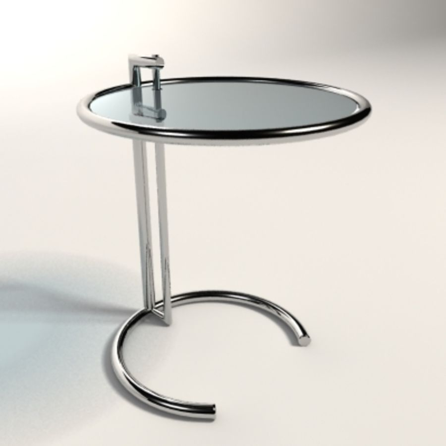 Eileen Gray Table Eileen Gray Adjustable Table 3d Model 25 Max Xsi Obj Ma