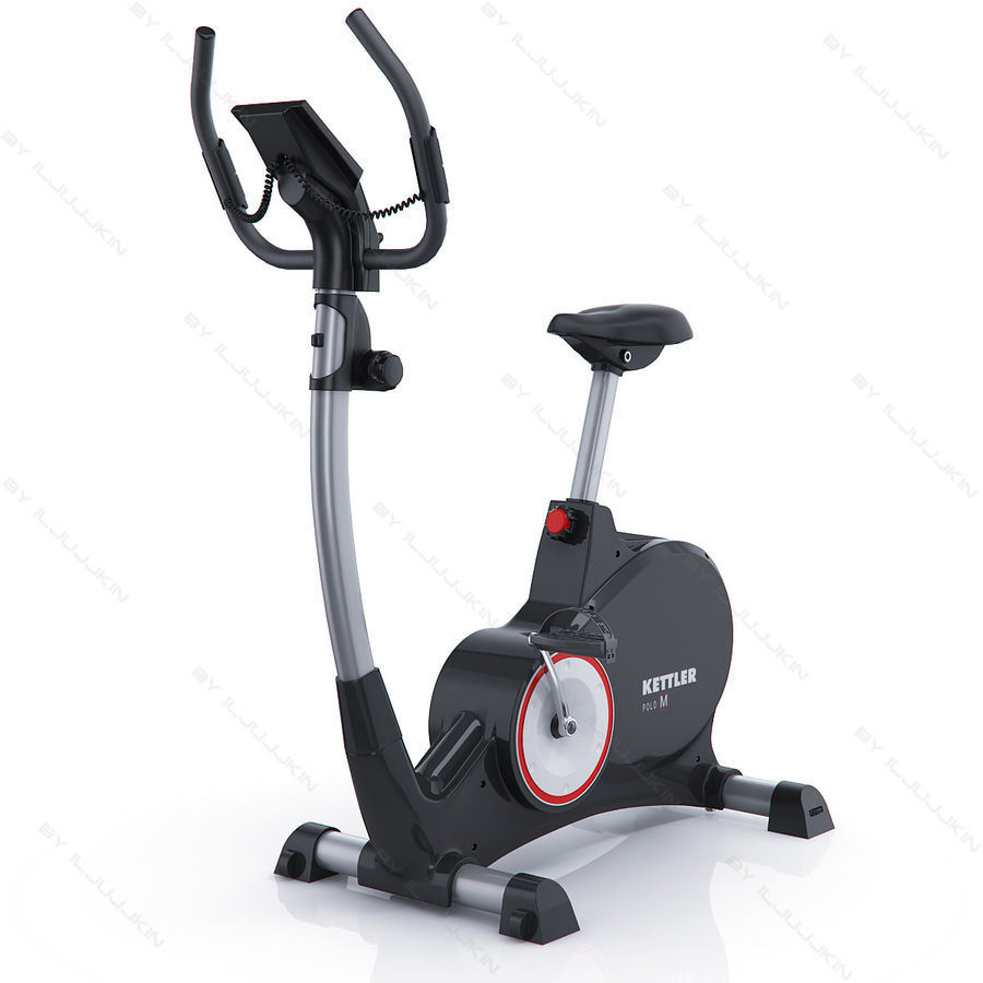 Kettler Fitness Gym Bike Kettler Polo M 3d Model 30 Max C4d Lwo Fbx Obj