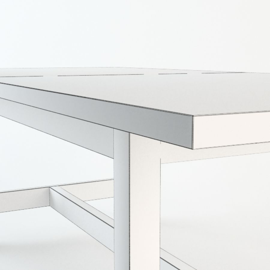 Mesa Norden Ikea Ikea Norden Table 3d Model 10 Max Obj Fbx 3ds Free3d