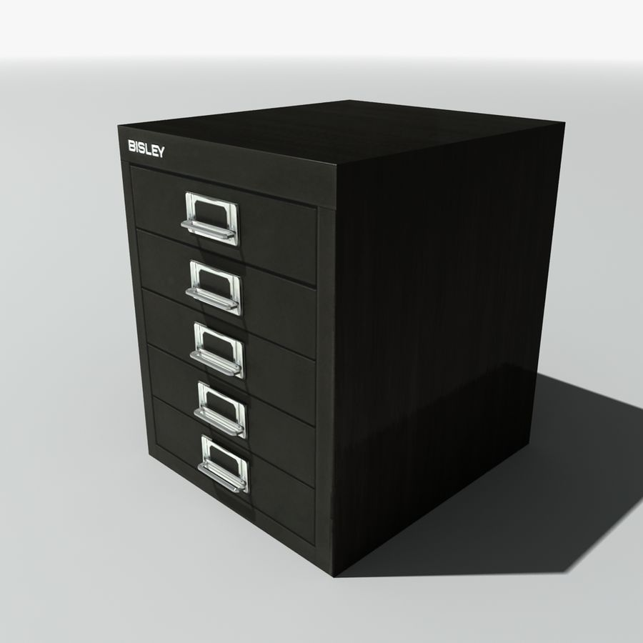 Small Filing Cabinet Small Metal Filing Cabinet 3d Model 5 Obj Fbx 3ds Max Free3d