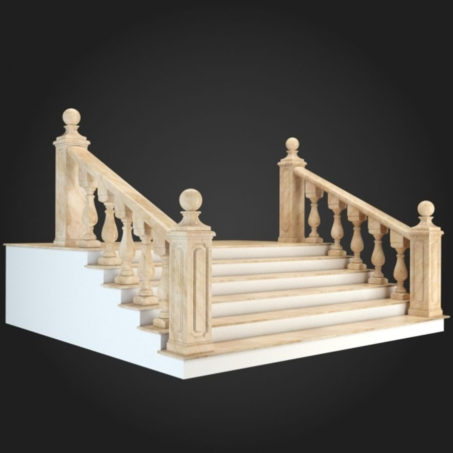 Model Escalier Escalier 001 Modèle 3d 11 Unknown Max Obj Fbx Free3d