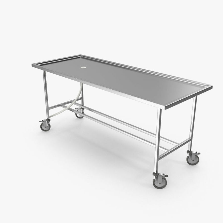 Table On Wheels Table For Autopsy On Wheels 3d Model 19 Max Obj Fbx 3ds