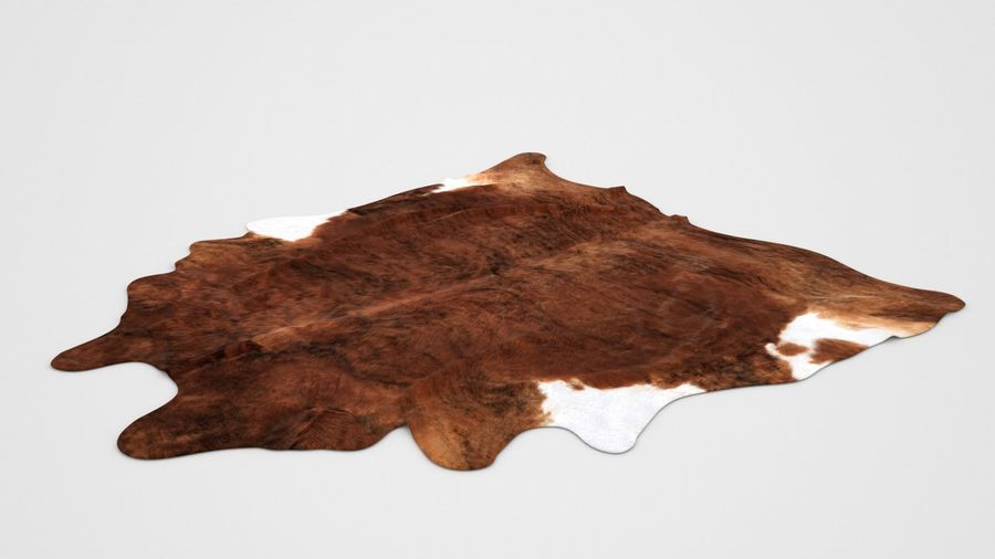 Teppich Kuhfell Ikea Carpet Cow Hide Koldby2 Brown Rug 3d Model $12