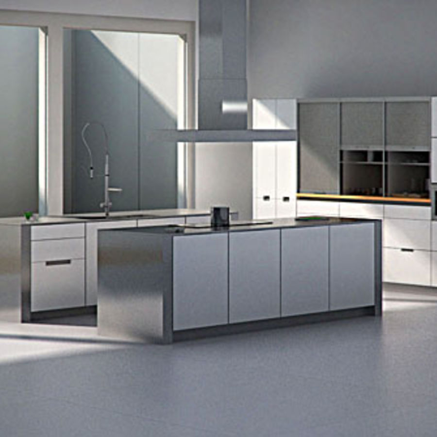 Kitchen Design 3d Model Kitchen 3d Model 20 Unknown Obj Fbx 3ds Max Free3d