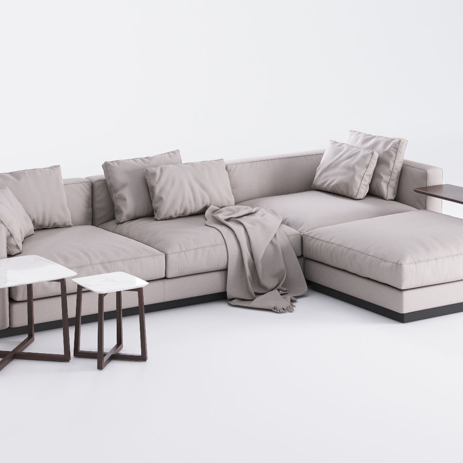 Flexform Groundpiece Sofa Price Flexform Pleasure Sofa 3d Model $15 - .unknown .max - Free3d