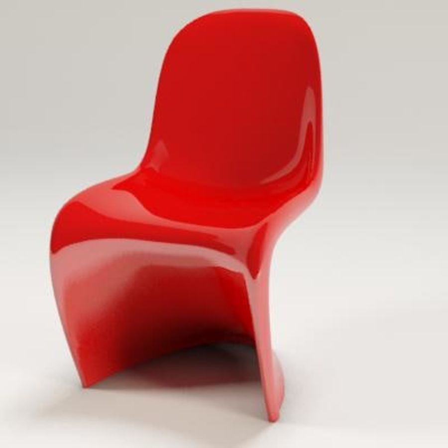 Pantone Chair 3d Model 5 Max 3ds Obj Free3d