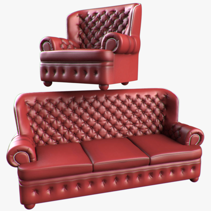 Chesterfield Möbel Chesterfield Möbel 3d Modell 30 Obj Max Free3d