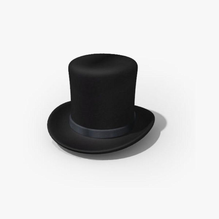 Rasta Wallpaper 3d Top Hat 3d Model 5 Max Oth Obj 3ds Free3d