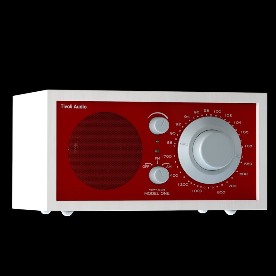 Tivoli Audio Model One Alternative Tivoli Radio 3d Model 39 Obj Fbx Dae 3ds C4d Free3d
