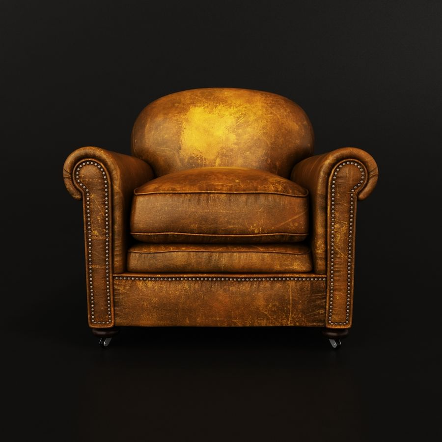 Chesterfield Sessel Chesterfield Sessel 3d Modell 39 Obj Fbx Max Free3d