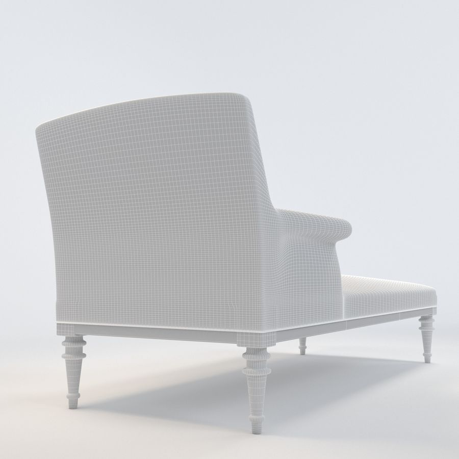 Long Chair 3d Model 12 Max Free3d
