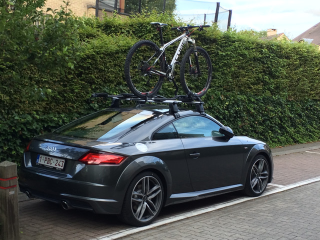 The Audi Tt Forum O View Topic Bike In Boot
