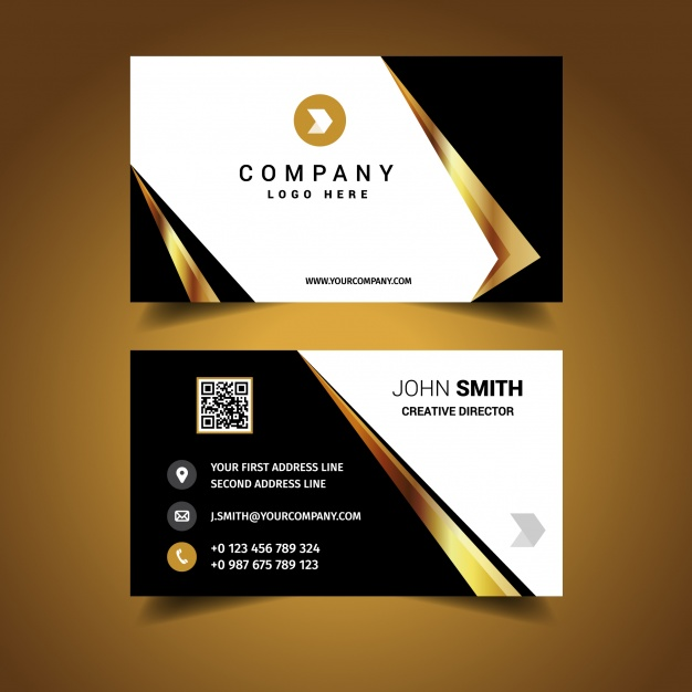 Luxury Business Card Design - pafpic