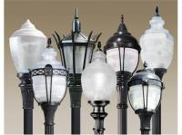 Decals Design Black Antique Street Lamp With Butterflies ...