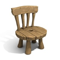 lwo cartoon chair