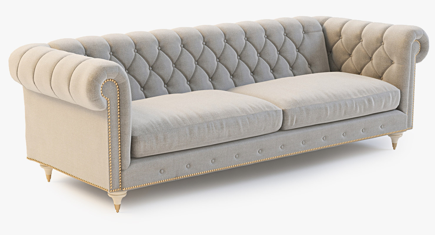 Chesterfield Sofa Texture 3ds Max Velvet Lyre Chesterfield