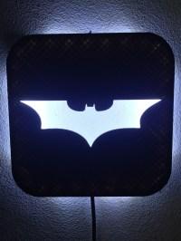 wall lamp batman 3d model