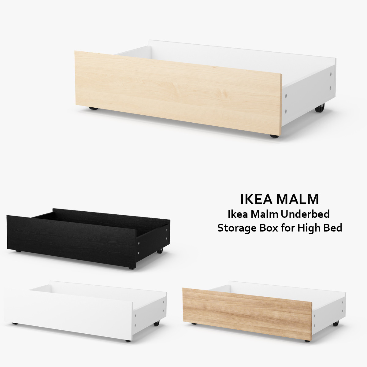 Ikea Drawers Under Bed Storage Nazarmcom  sc 1 st  Listitdallas & Ikea Underbed Storage Drawers - Listitdallas