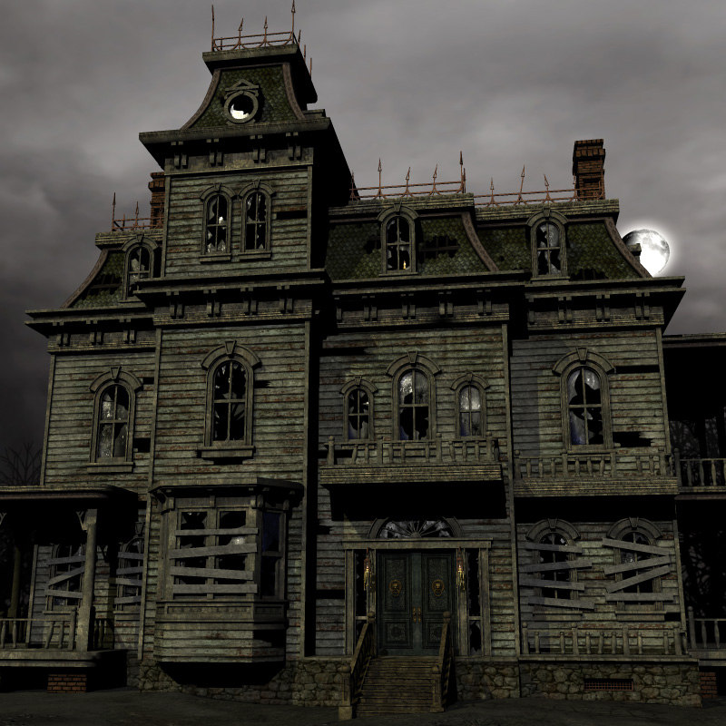 Haunted House 3d Live Wallpaper Download Haunted House 3d Max