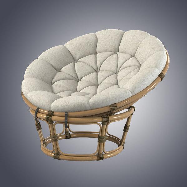 round papasan chair