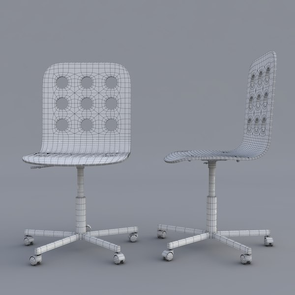 Ikea Stühle Jules 3d Ikea Jules Swivel Chair Model