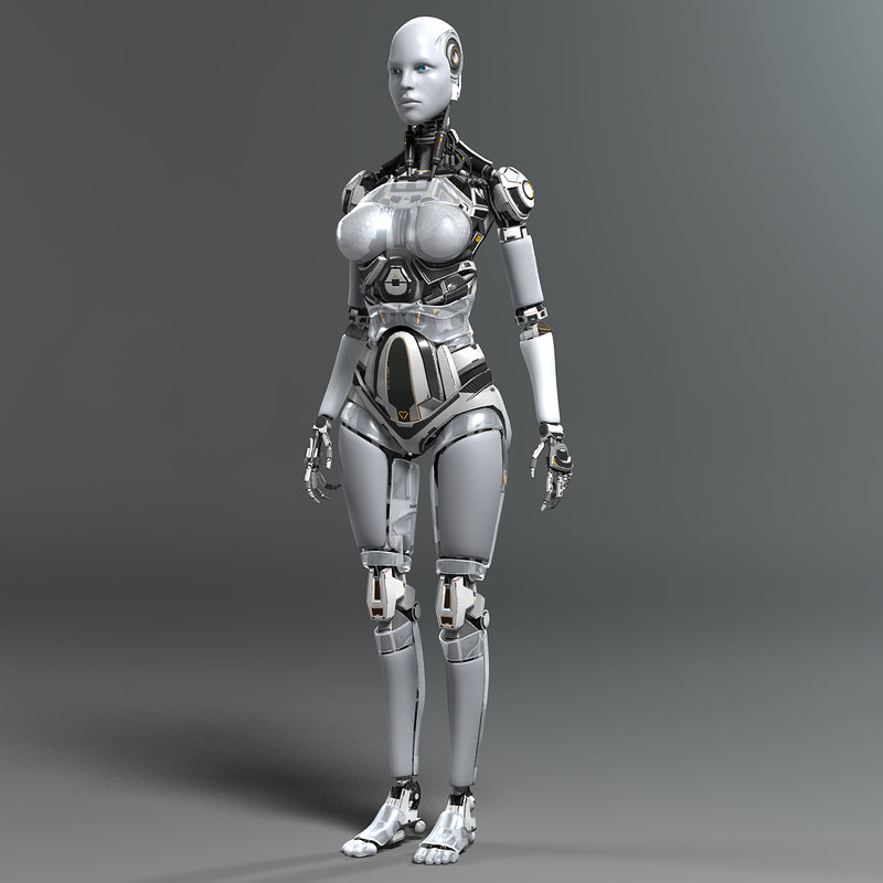 Animation Wallpaper Free Download For Android 3d Model Female Robot