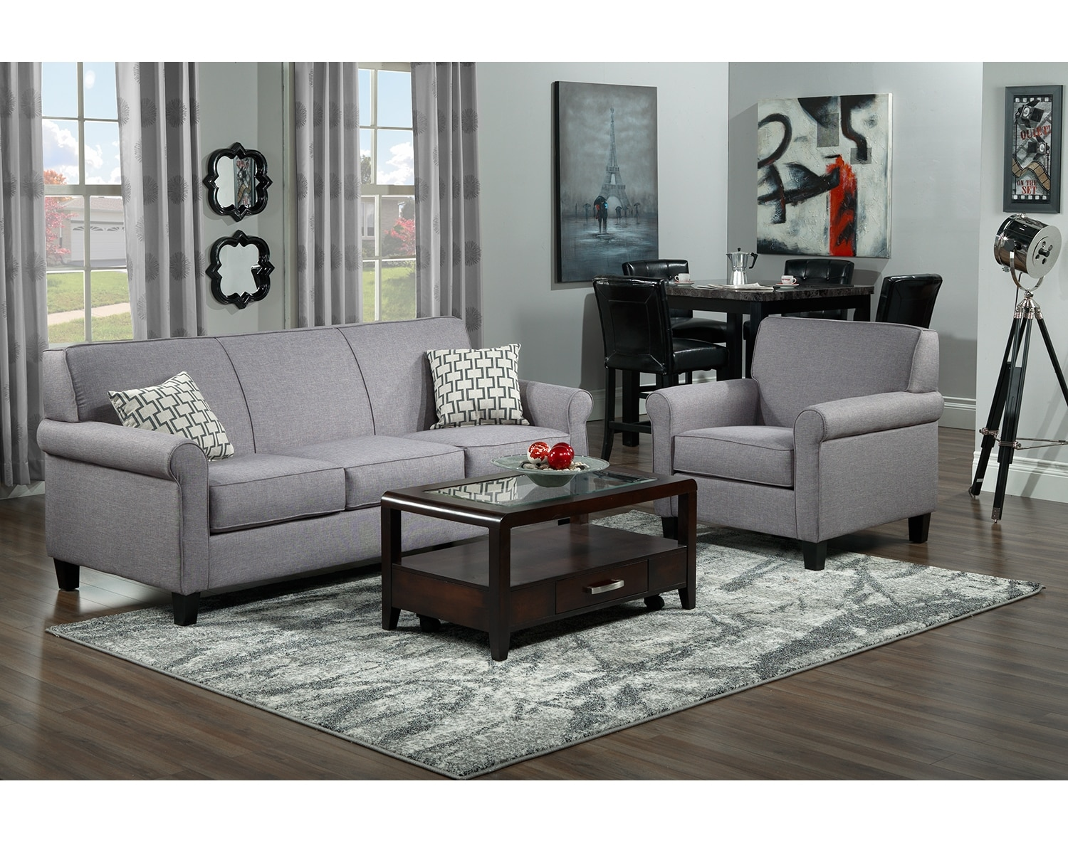 Furniture Shops Richmond Richmond Sofa Silver Grey Furniture Ca