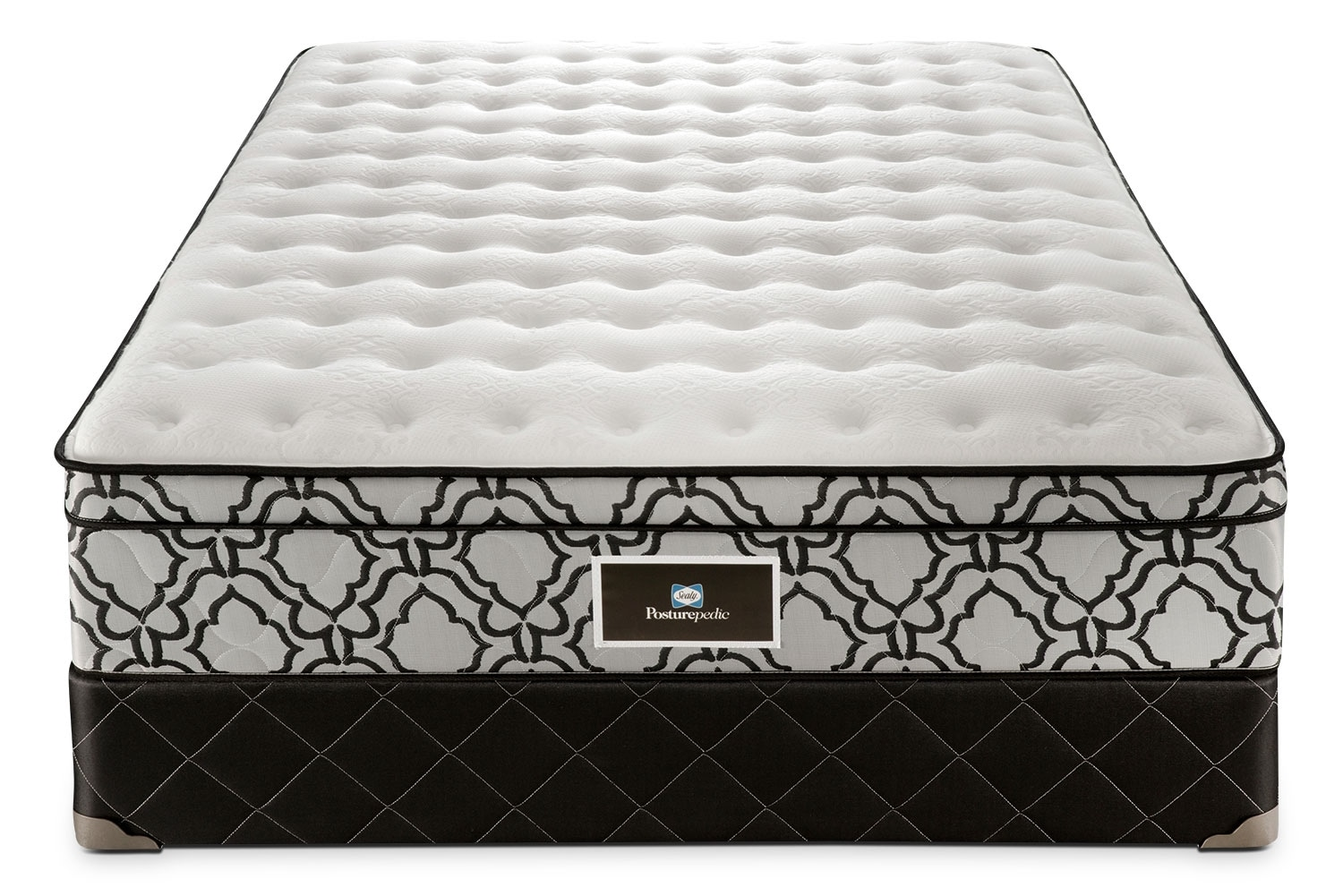 Low Profile Innerspring Mattress Sealy Theodore Firm Queen Mattress And Low Profile Split