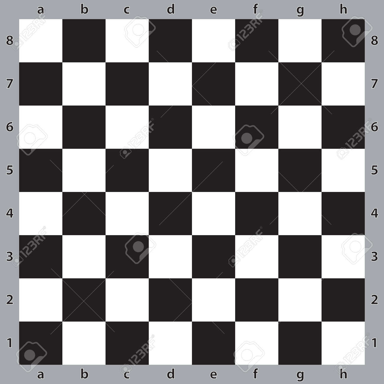 Chess Table Chess Table Abstract Black On Transparent Background