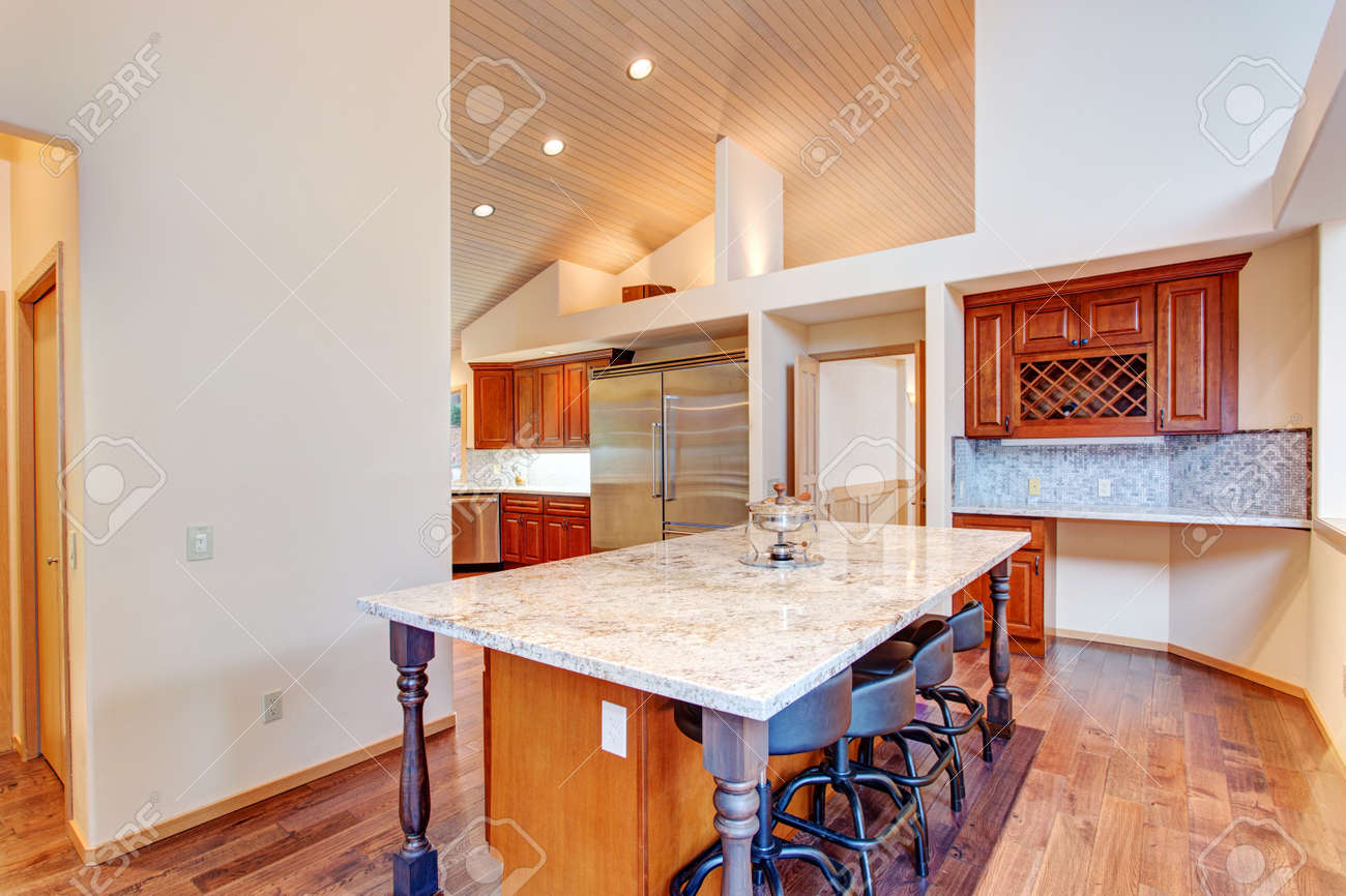 Kitchen Design Open Plan Open Floor Plan Kitchen Design Features Breakfast Nook With A