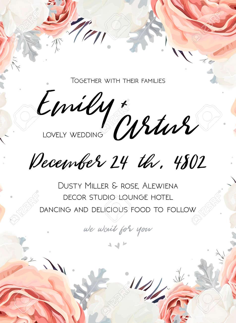 Fullsize Of Wedding Invitation Templates