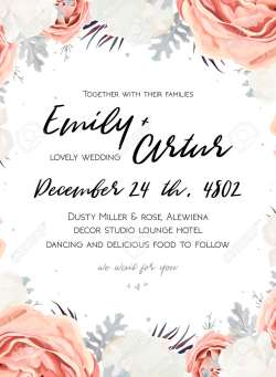 Small Of Wedding Invitation Templates