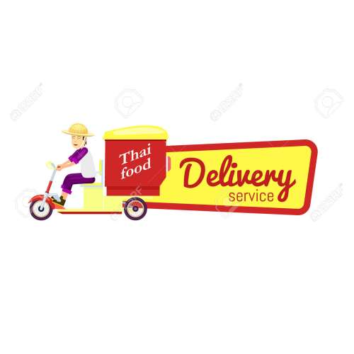 Medium Crop Of Fast Food Delivery