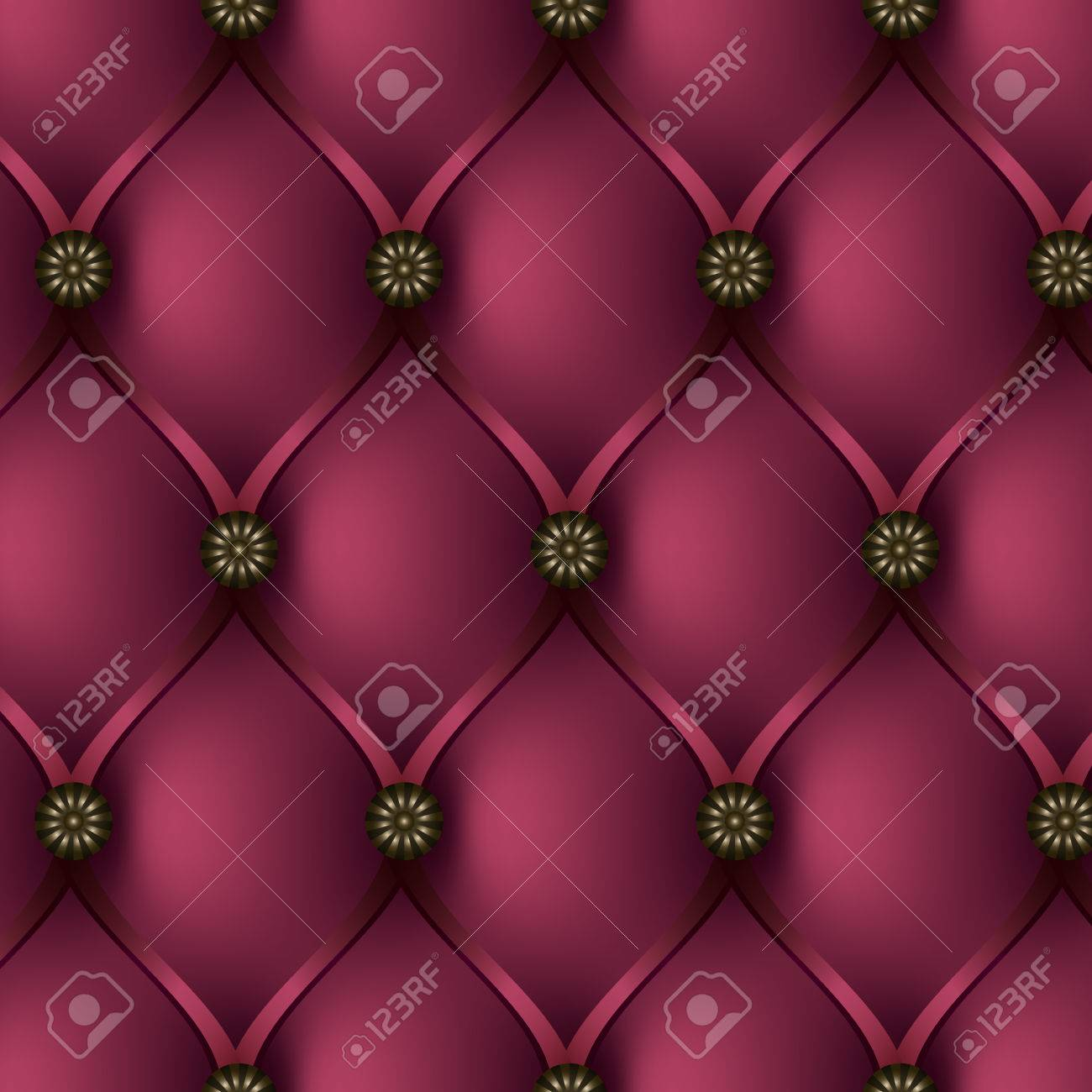 Sofa Texture Vector Seamless Vector Texture Leather Upholstery Sofa Buttoned Pink
