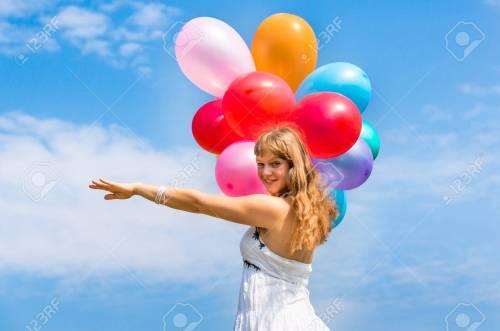 Medium Of Happy Birthday Young Lady