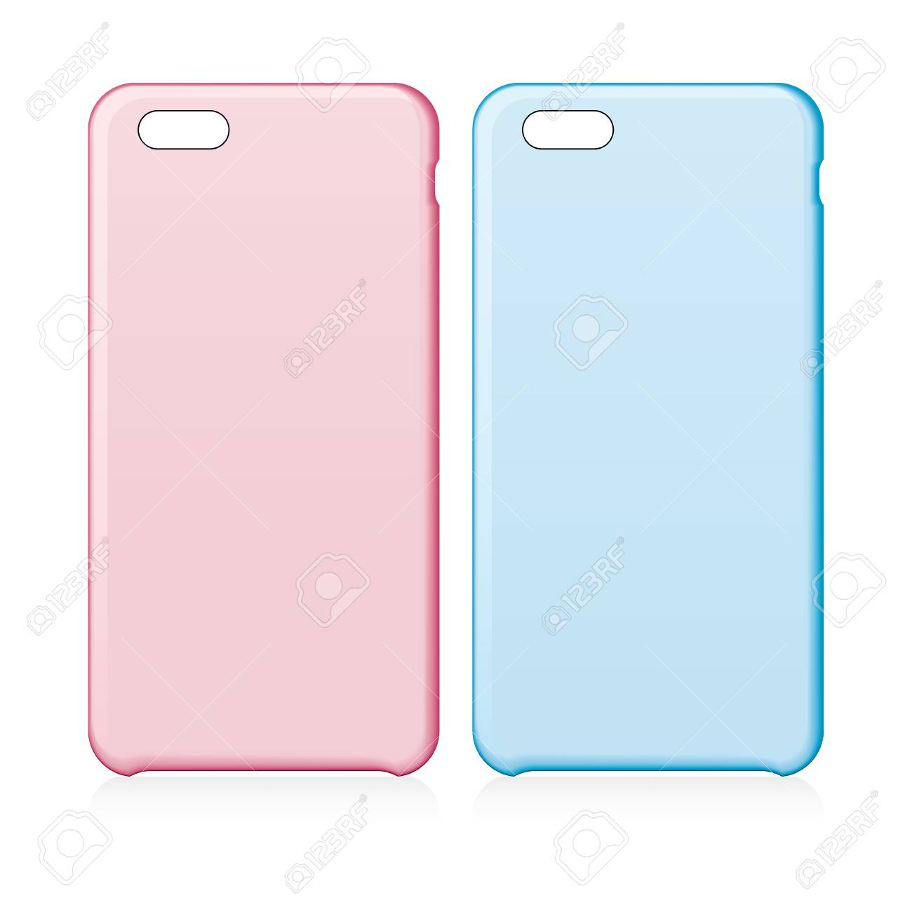 Smartphone Cases Pink And Blue Smartphone Cases