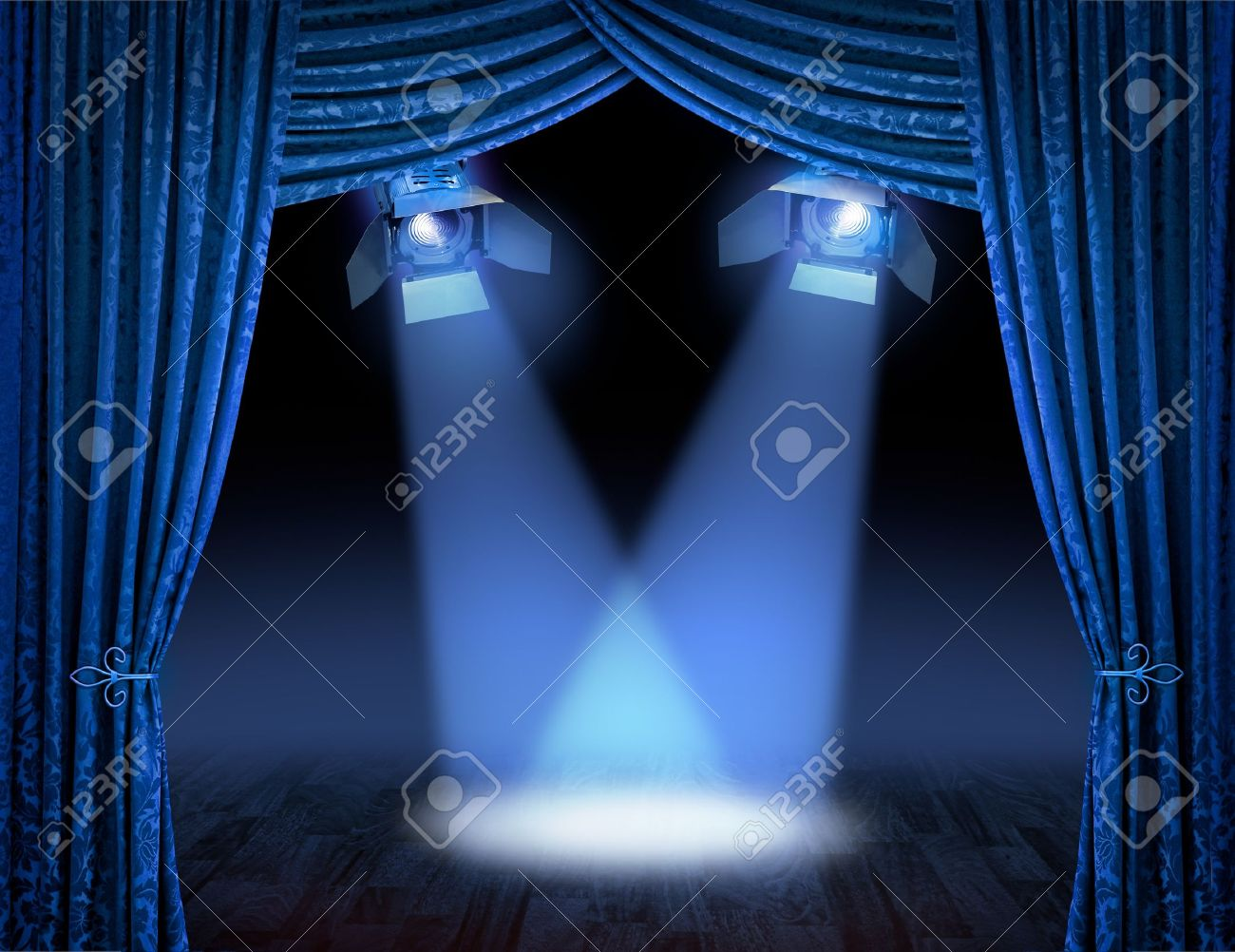 Bl blue stage curtains background - Bl Blue Stage Curtains Background Blue Stage Curtains Download
