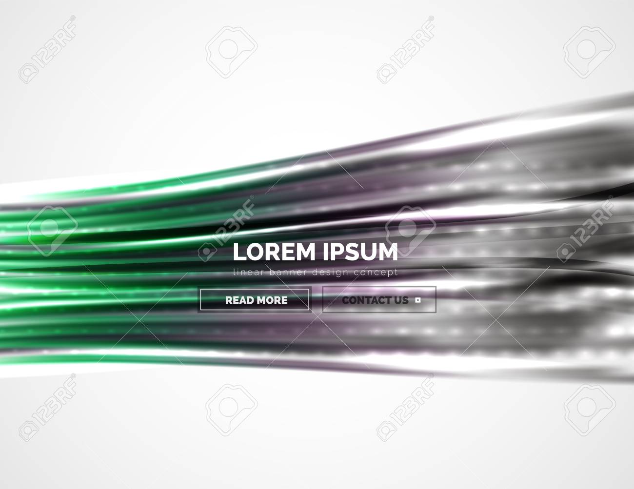 Gordijn Wave Brush Shiny Metallic Wave Curtain Abstract Background Vector