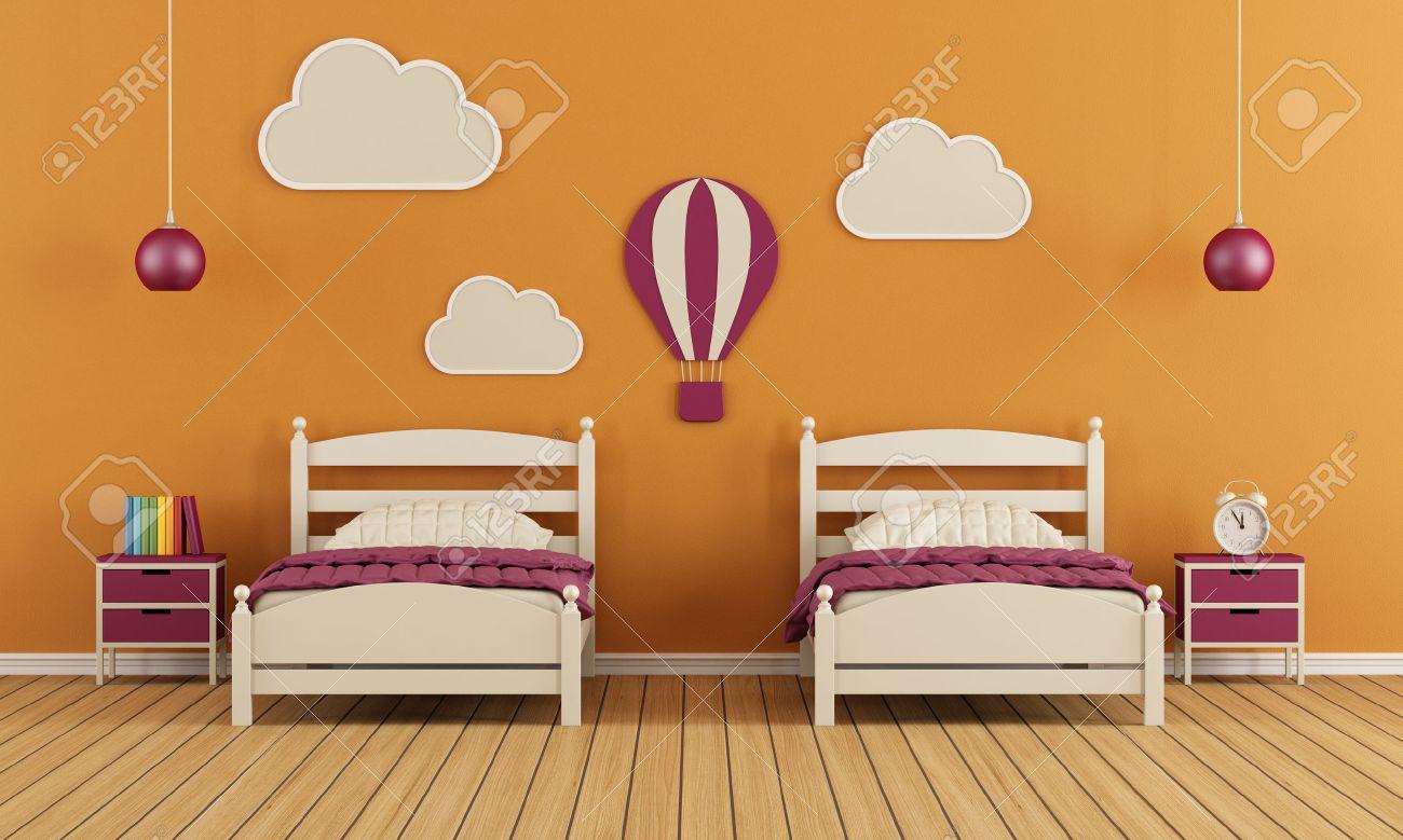 Chambre Enfant Orange | Stickers Hibou Chambre Bébé 346682 Chambre ...