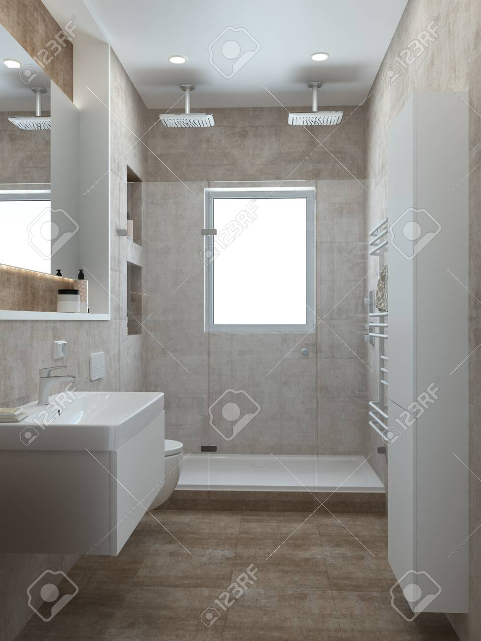 Badezimmer Bilder Modern Stock Photo