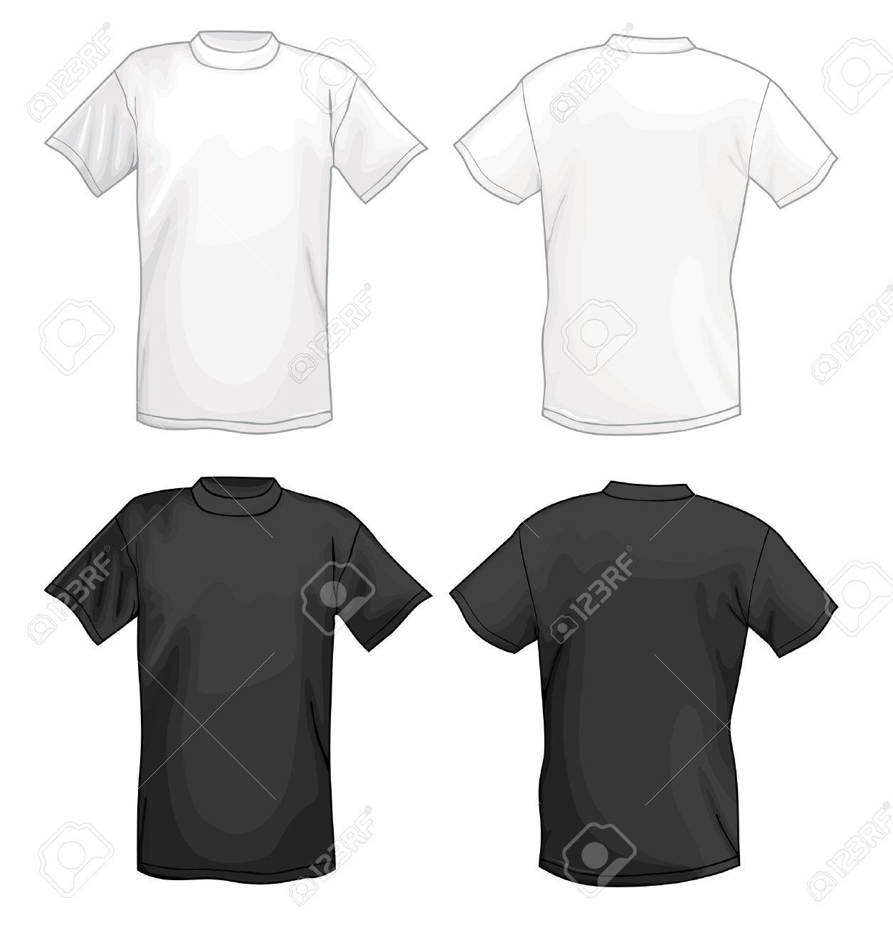Black t shirt vector ai -  Vector T Shirt Download