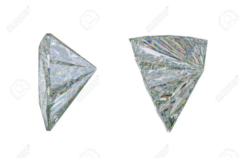 Large Of Trillion Cut Diamond