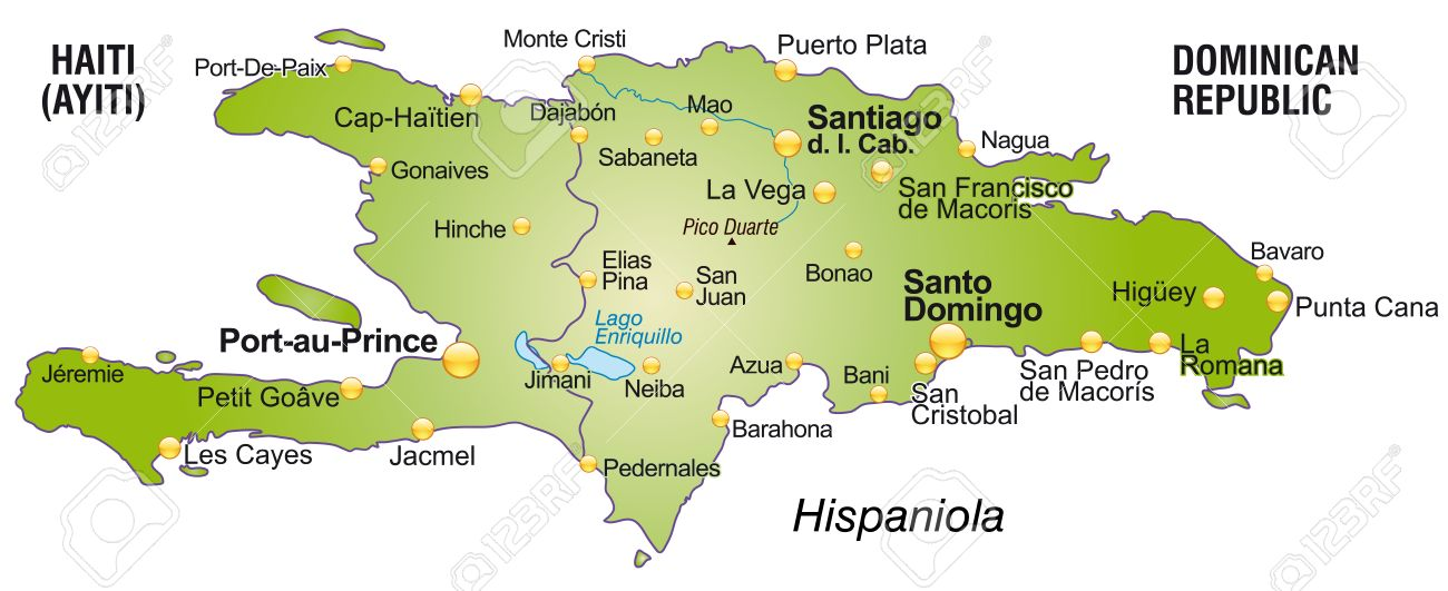 Map of Hispaniola, Antilles ISLANDS ~Miles of Isles Pinterest - family reunion invitation cards