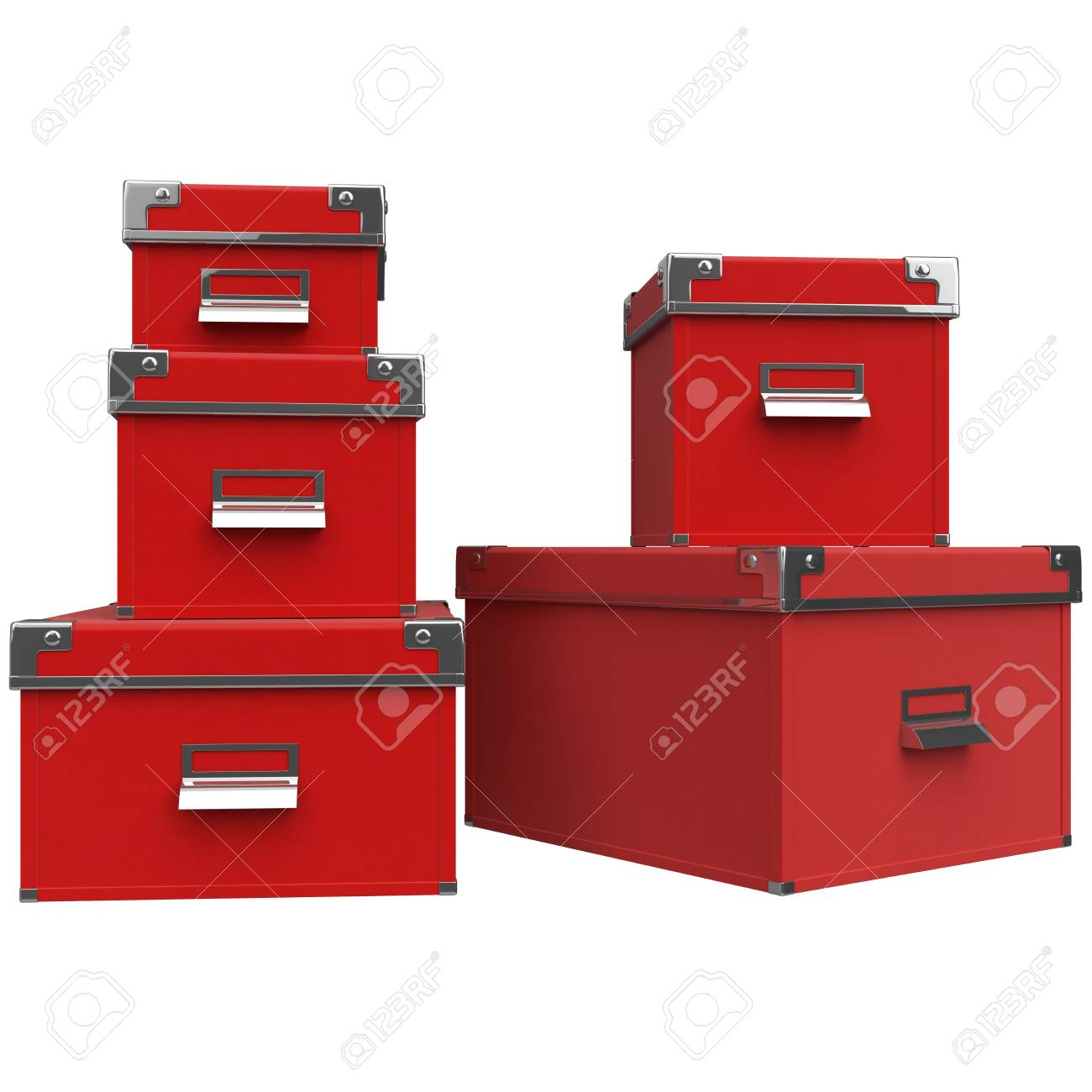 Boxen Gross Stock Photo