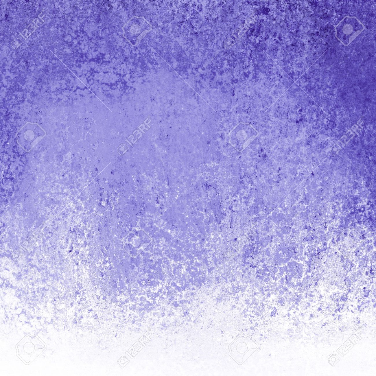 Cool Blue Paint Cool Purple Blue Background White Grunge Border Texture With
