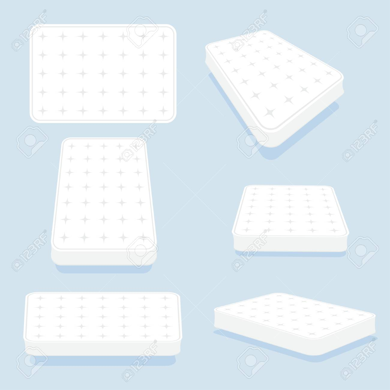 Latex Foam Mattress Mattress In All Positions Set High Quality Modern Sprung Latex