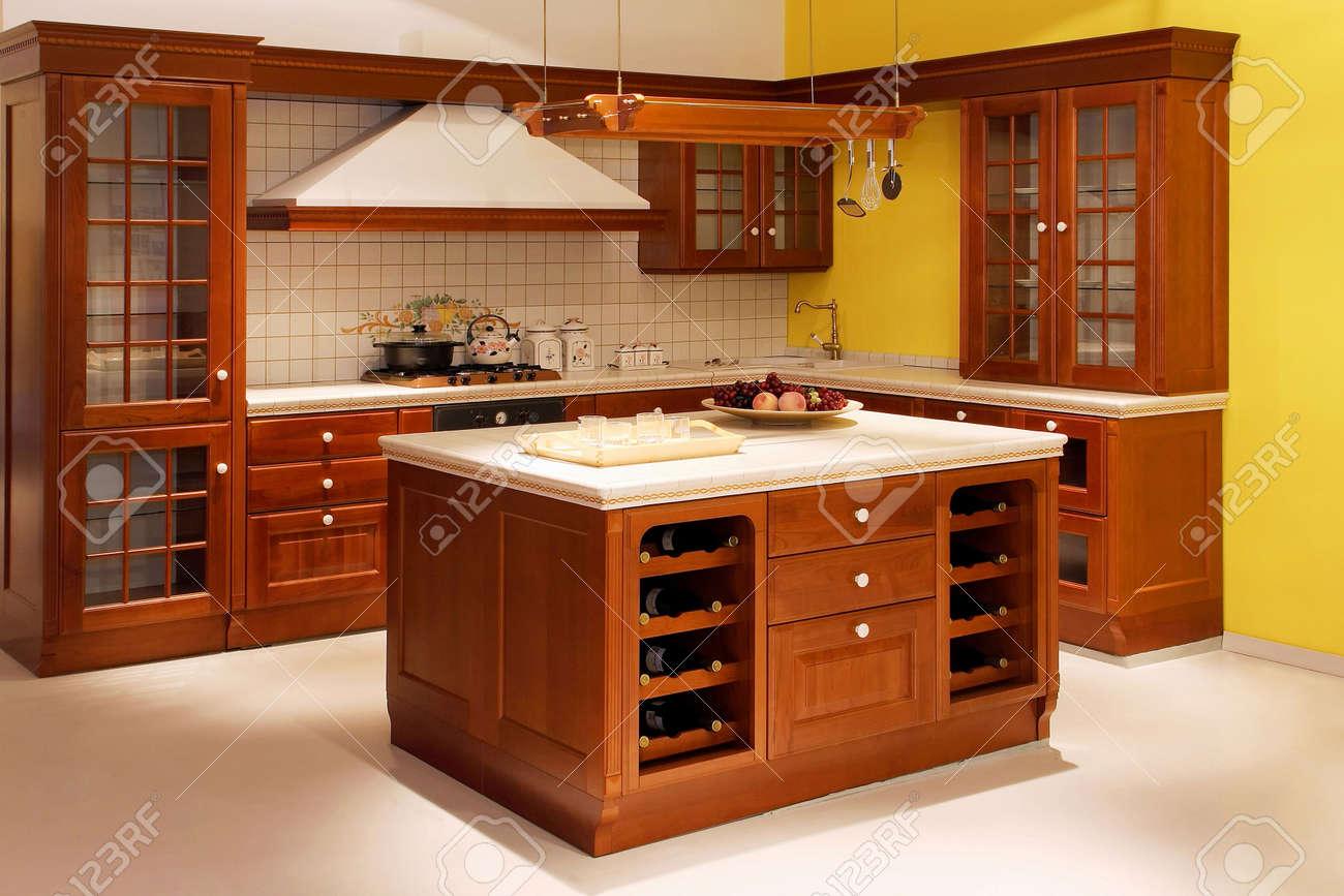 Küche Amerikanischer Stil   Amerikanische Kuche Einrichtung Genial ...