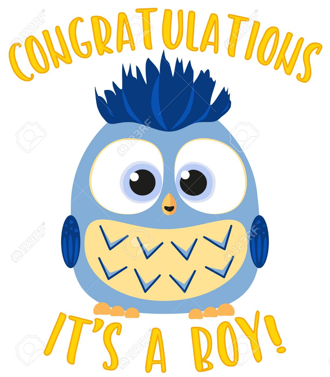 Exciting Congratulations It S A Boy Colorful Baby Boy Birthdaymed Flat Vector Congratulations It S A Boy Colorful Baby Boy Owl Congratulations Baby Boy Ny Congratulations Baby Boy S baby shower Congratulations Baby Boy