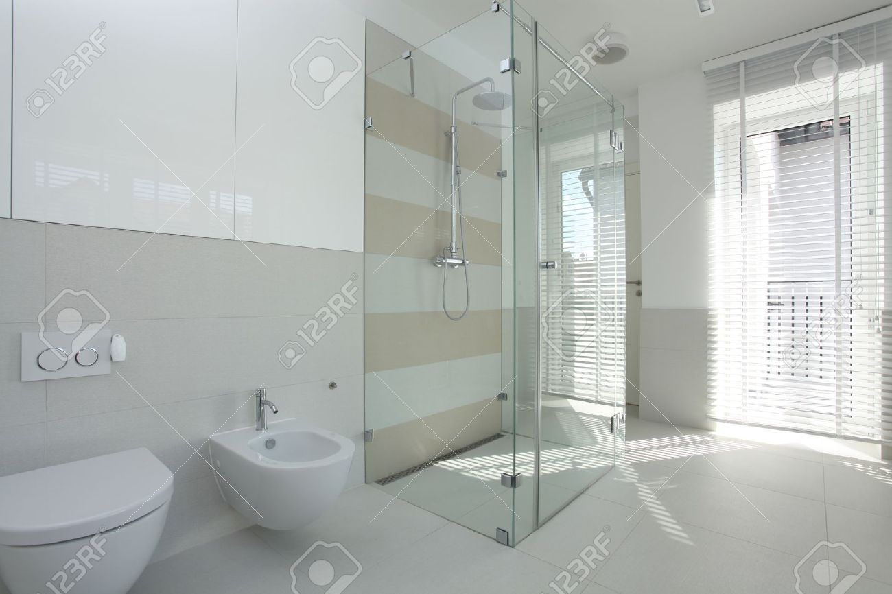 Bilder Badezimmer Modern Stock Photo